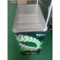 Custom Portable Promotional Counters , Aluminum Pop Up Promotion Table Manufactures