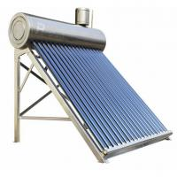 stainless steel non-pressurized solar hot water system Manufactures