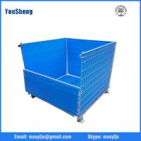 China Customized Qualified Collapsible Rolling Metal Wire Mesh Storage Cage on sale