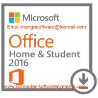 China Windows Microsoft Office Home And Student 2016 Product Key Digital Activation Code on sale