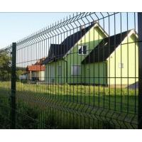 3D Curved Wire Mesh Fence Panel For Courtyard / Cottage / Boundary Manufactures