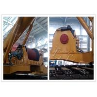Custom Offshore Winch , Marine Hydraulic Winch 10M-500M Drum Capacity Manufactures