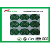 2 Layer Lead Free HASL Custom Printed Circuit Board PCB Material FR4 1.6MM Green Solder Mask Manufactures