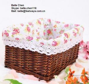 willow  storage basket Manufactures