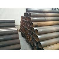 Hot Dipped Electric Resistance Welding Pipe Carbon Steel Material For Sewage Disposal Plant Manufactures