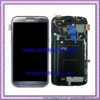 Samsung Galaxy Note2 N7100 LCD Screen with Digitizer grey Samsung repair parts Manufactures