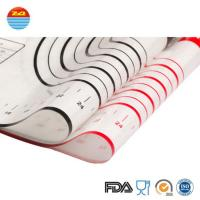 China full sheet clear silicone cake liners non slip baking kitchen cooking mat boards on sale