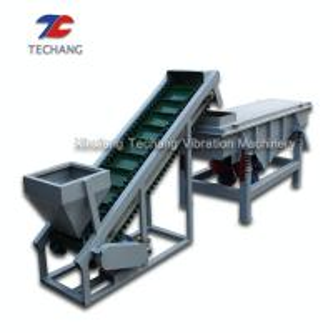 China Heavy Duty Idler Roller Flat Belt Conveyor For Bulk Cement / Coal / Limestone on sale