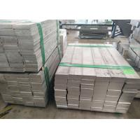 China 7075 T6 Standard Aluminum Extrusions Aluminum Flat Bar 5052 With Mold JIS H4000 Standard on sale