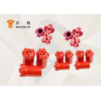 High Rigid Drill Rod And Hammer Taper Button Bit Low Carbon Steel Material Manufactures