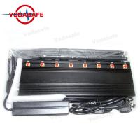 Quality GPS 433MHz 315MHz Vehicle Signal Jammer RF Customized 24 / 7 Hours Working for sale