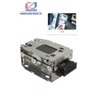 High Security Motorized IC Card Reader Writer , Smart Chip Card Reader For Kiosk Terminals Manufactures