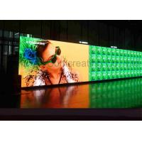 Customized HD P4 Indoor Advertising LED Display Full Color LED message board Front / Back Service Manufactures