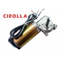 China Golden Color Heavy Load Automatic Sliding Door Motor / DC Gear Motor with Encoder 100W 24VDC on sale