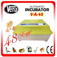 Full automatic commercial incubators for hatching eggs VA-48II make chicken egg incubator Manufactures