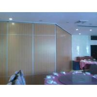Melamine Surface Operable Sliding Doors / Folding Room Dividers for Hotel Manufactures