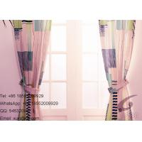 Quality Blackout , Insulated Transfer Printing Fabric with Colorful Geometric for sale