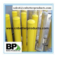 hot dipped Galvanized and powder coated Traffic barrier/parking bollard Manufactures