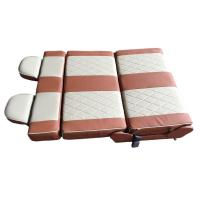 motorhome seat mpv folding seat caravan seat with 4way movement auto seat for double people business car pair seat Manufactures