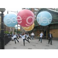 2m Diameter Colorful Inflatable Advertising Balloons Durable For Parade Events for sale