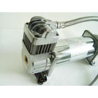150PSI Chrome 1.75CFM Heavy Duty Portable Air Shock Compressor 12v With Air Tank Manufactures