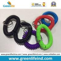 China Wrist Coil Spiral Key Ring Retainer Top Quality From China on sale