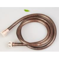Bronze plated dia 14mm stainless steel sanitary shower hose extension Manufactures