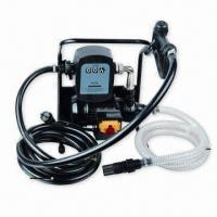 Quality AC Fuel Transfer Pump Set with Flow Meter, Nozzle and 36m Maximum Head for sale