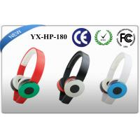 Rubber oil coating beats Stereo Headphones / Wired Mobile Device Earphones Manufactures