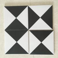 China AAA Grade Ceramic Kitchen Floor Tiles For Decoration Mix Black White Color on sale