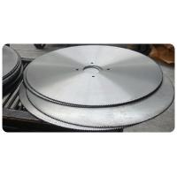 Big Size Steel Circcular Saw Blade for wood cutting 1200mm x 6.5mm x 30mm Z=160 Manufactures