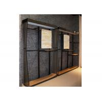 Customized Wall Mounted Shelving Systems , Multi - Funcutional Wooden Shelving Units Manufactures