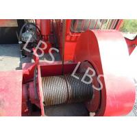 Oil Field Downhole Operation Offshore Winch Workover Rig Winch Steel Wire Rope Manufactures