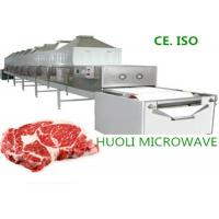 Quality Microwave Meat Thawing Machine 65KW Tunnel Type 2450±50 MHZ for sale