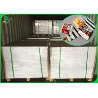 China 300GSM Food Grade White Cardboard With Coated One Side For Hot Food on sale