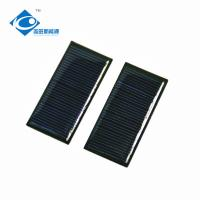 5.5V Mono Epoxy Solar Panel Photovoltaic For Mobile Power Pack 0.3W Manufactures