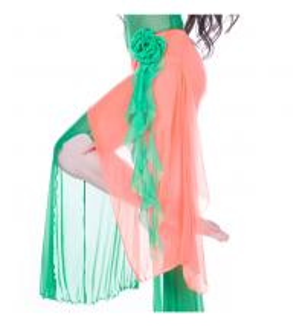 Elegant Mesh Belly Dancing Hip Scarves Costumes Suit , Modern Belly Dance Wear Manufactures