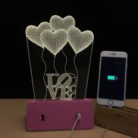 6000 MAh Mobile Iphone Plug Charge RAcrylic Board With LED Soft Light Built In Manufactures