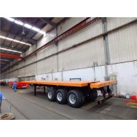 40 foot 20ft shipping container flatbed trailers for sale from CIMC Manufactures