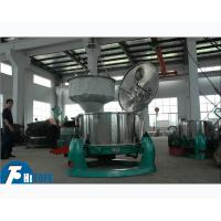 Two Phase Industrial Basket Centrifuge SD Intermittent Operated For Hemp Oil Manufactures