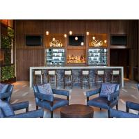 Comfort High Bar Stool And Bar Counter Hotel Bar Furniture Custom Manufactures