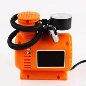 Orange Auto Air Compressor Portable , 250psi Plastic Air Pump For Car Tires Manufactures
