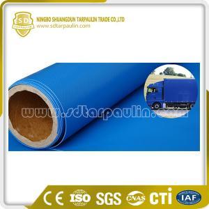 China Truck Tarpaulin PVC Coated Waterproof Fabric on sale