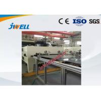 Single Layer Pet Sheet Extrusion Line Stable Running Co Extrusion Two Color