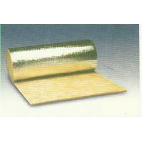 Thermal Rockwool Insulation Blanket Flexible Faced With Aluminum Foil Manufactures