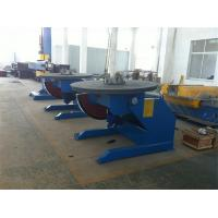 Double Gear Electric Rotary Pipe Welding Positioners for Pipe Powered Tilting / Rotating Manufactures