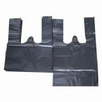 Garbage/Die-cut Handle/T-shirt Bag, Made of HDPE, LDPE and Biodegradable Manufactures