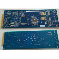 """6 layers Rigid FR4 PCB with ENIG surface and hard plating gold finger 10u"""" Manufactures"""