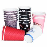 triple wall paper cups,effective heat insulating coffee paper cup,hot water proof coffee c Manufactures