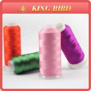 China High tenacity Polyester Filament Yarn textile viscose filament yarn 5000m 120d/2 on sale